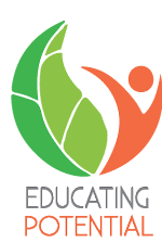 educating potential logo