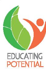 educating potential logo